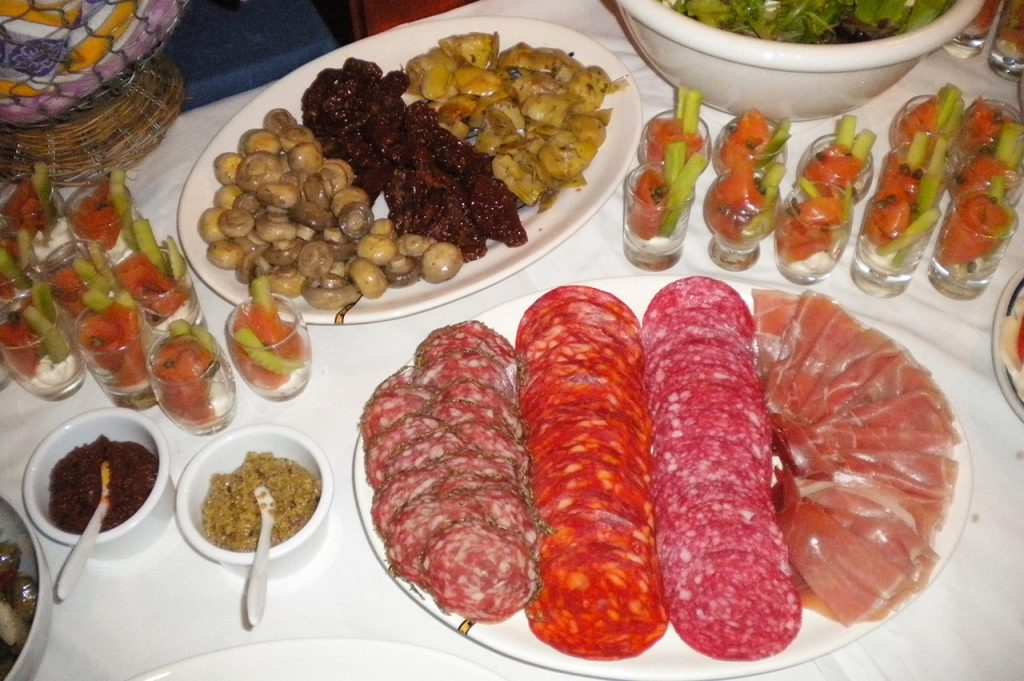 italiaans-buffet
